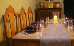 Abendessen Kanada Gastgeber Country Encounters B&B