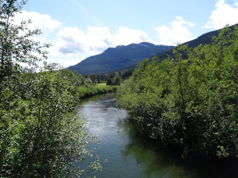 Squamish Fluß