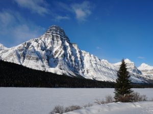 Nationalpark Banff Canyon Winterurlaub Kanada