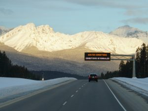Winterurlaub Kanada - Alberta Westkanada im Winter