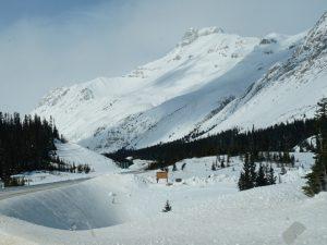 Winterurlaub Kanada Icefields Parksway Banff Nationalpark