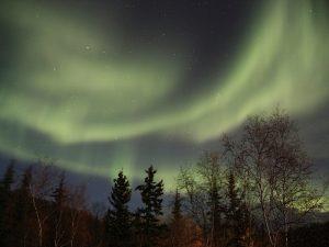 Nordlichter bei Yellowknife in Kanada
