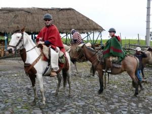 Auf dem Rücken der Pferde durch die Páramo-Ebene