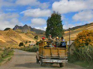Auf dem Weg zurück nach Quito