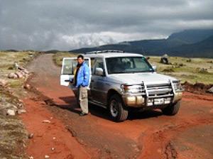 mit Privattransfer im Cotopaxi Nationalpark unterwegs