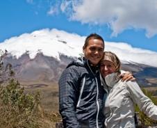 Hazienda & Lamas beim Cotopaxi