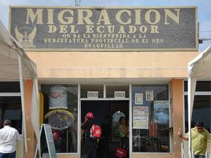 Einwanderungsbüro Ecuador