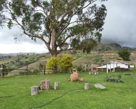 Hacienda bei Tigua
