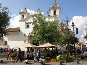 Marktbesuch in Cuenca
