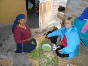 Beim Homestay in Otavalo