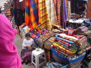 Handwerkermarkt-Otavalo