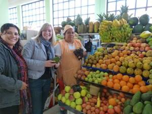 Marktbesuch in Quito bei Ecuador Rundreise