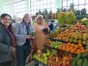 Ein Marktbesuch während Ihrer Quito Reise