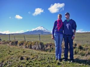 Perfekte Sicht auf den Vulkan Cotopaxi - sicherlich ein Highlight während der Ecuador und Galapagos Rundreise