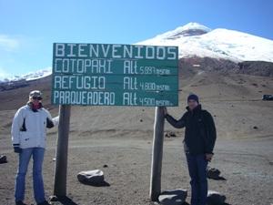 Wanderung auf dem Vulkan Cotopaxi