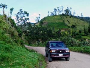 mit privatem Transfer durch Ecuador
