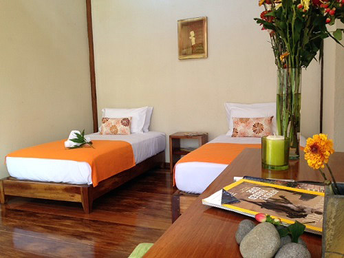 Zimmer in der komfortablen Dschungellodge