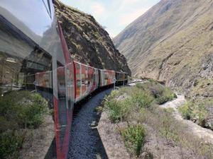 Bahn in Ecuador