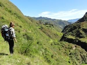 Aussicht Quilotoa Loop