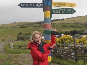 Annette Warncke, Ecuador Spezialistin