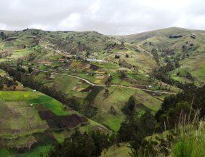 Andenlandschaft bei La Esperanza