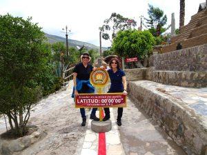 Im Äquatormuseum in Quito