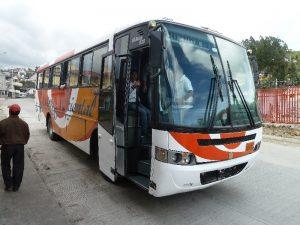 Bus nach Cuenca in Ecuador