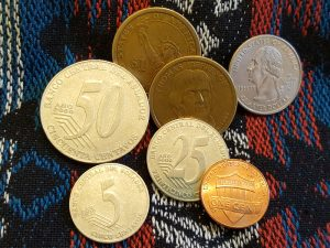 Münzgeld in Ecuador