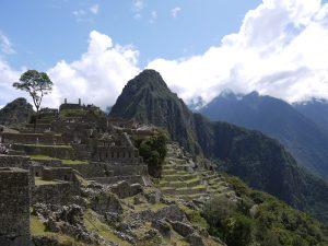 Blick auf den Machu Picchu