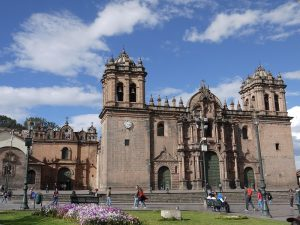 Der Plaza de Armas in Cusco