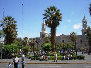 Unterwegs in Arequipa
