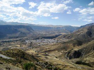 Sicht auf den Colca Canyon