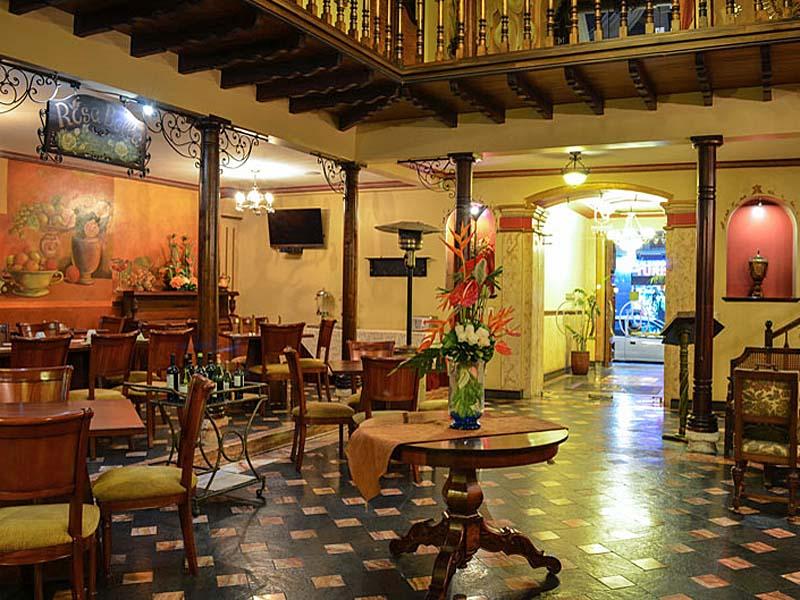 Eingangsbereich Hotel Cuenca