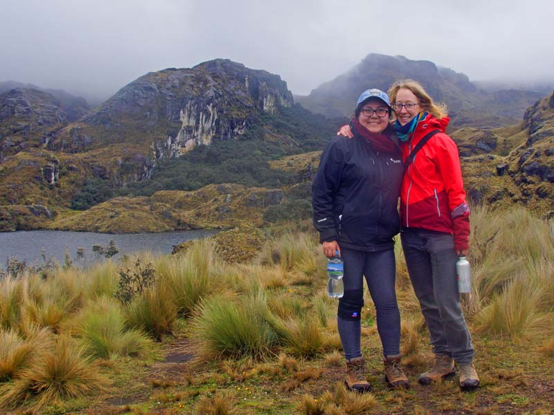 Trekking Cajas Nationalpark