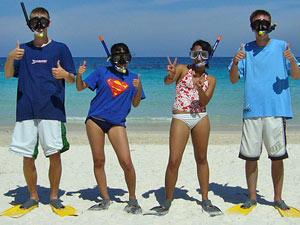 Ko Raya, snorkel fun