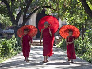 Myanmar on a budget, monnikken