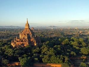 de tempels van Bagan Myanmar