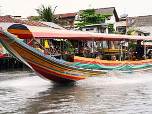 Bangkok tussenstop, longtailboot tour