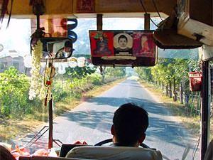 budget rondreis bus