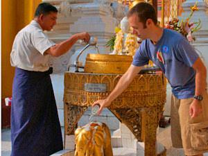 budget rondreis Myanmar tempel