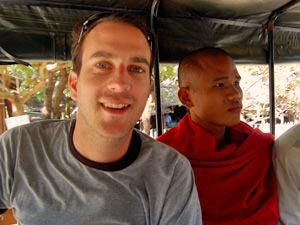 Zuid Birma reis onderweg