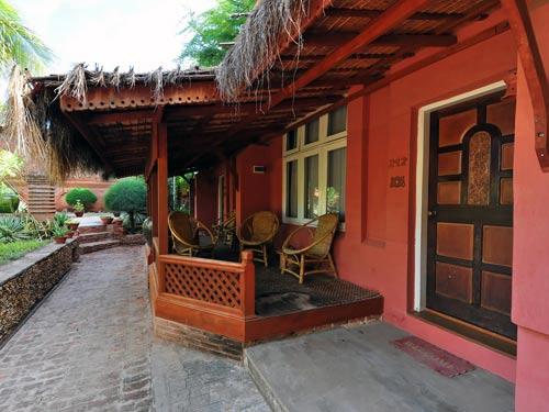 reis Myanmar villa Bagan