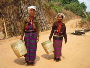 Ruraal Myanmar - vrouwen