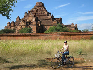 fietsen tussen de tempels: Bagan