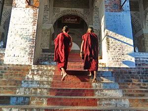 Mandalay verblijf - Mandalay Hill beklimmen
