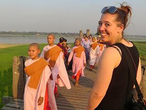 verblijf Mandalay: u bein brug amarapura
