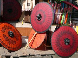 Myanmar gezondheid parasol