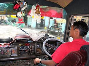 Myanmar reis per bus