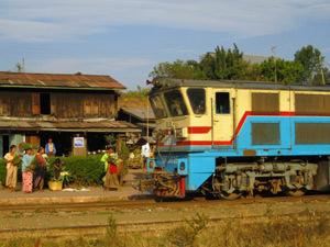 Myanmar treinreis