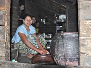 Myanmar vrouwen hulpproject